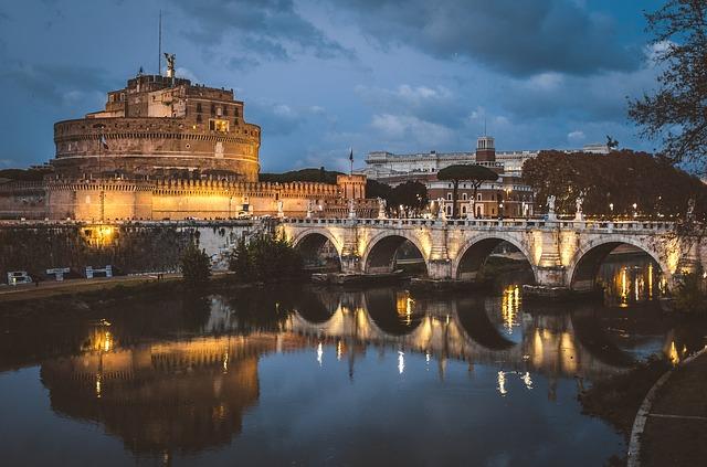 Le 10 cose pi belle da vedere a roma castel sant 39 angelo for Case belle da vedere